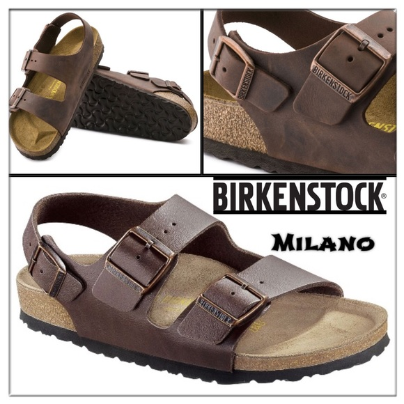 a7034e267 Birkenstock Shoes - 🆕BIRKENSTOCK Milano Amalfi brown sandals