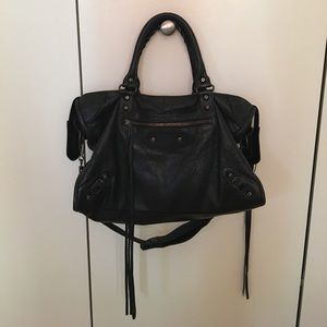 Balenciaga Handbags - Balenciaga City Bag - black