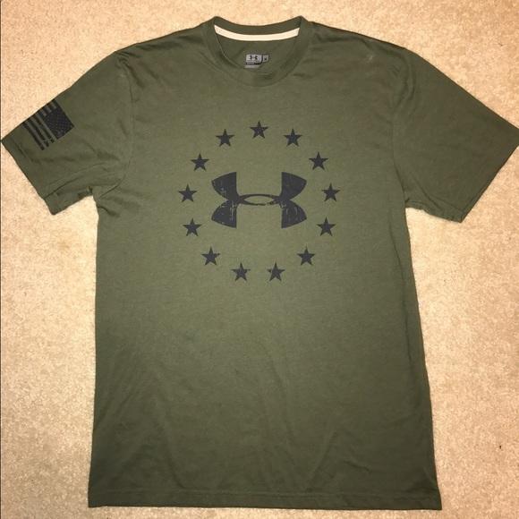 5601fbab4 Under Armour Army Green Shirt. M_5928b784eaf030171700dddb
