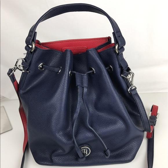 cd341c354 Tommy Hilfiger Mara Drawstring Bucket Bag