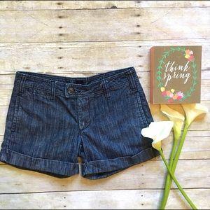 GAP Pants - Gap cuffed denim shorts