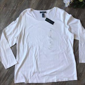 Karen Scott Tops - ✨final sale!✨NWT Karen Scott plus size t-shirt
