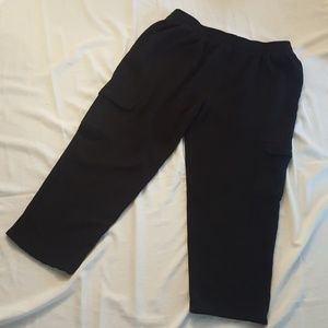 And1 Other - AND 1 Sweat Pants Cargo Elastic Drawstring Waist