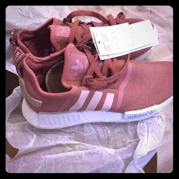 44 off adidas shoes adidas nmd raw pink sizes 7 5 from. Black Bedroom Furniture Sets. Home Design Ideas