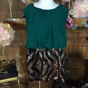 As U Wish Dresses & Skirts - As U Wish sequin mini dress
