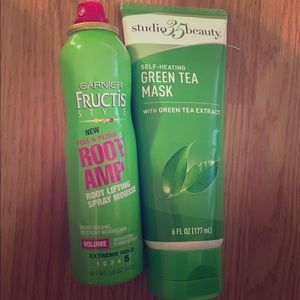 Bobbi Brown Other - Green tea face mask and hair volume moose!