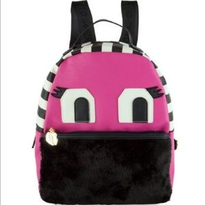Betsey Johnson Handbags - SALE🔥Tazzy Betsey Monster Backpack Pink NWT
