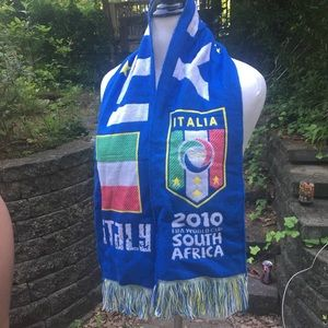 Other - 2010 Italy/Italia Soccer World Cup FIFA Scarf