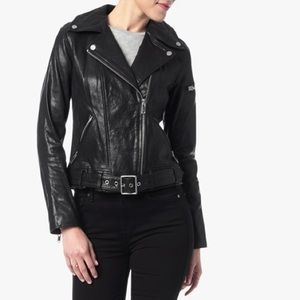 7 For All Mankind Jackets & Blazers - 7 For All Mankind Moto Leather Jacket