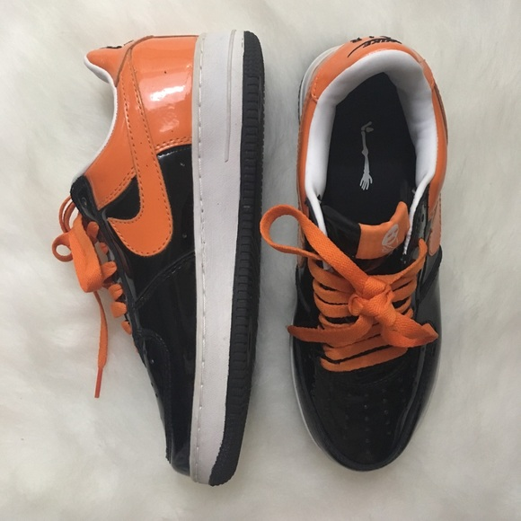 Nike Zapatos Force Raros Hombres Halloween Air Force Zapatos Ones Tamaño 75 Poshmark a4f3ae