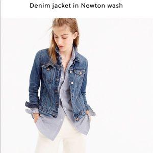 J.crew denim jacket in Newton wash