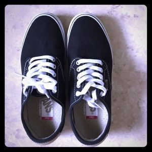 Vans Other - Classic Black Vans shoes for men 7.5 Like New