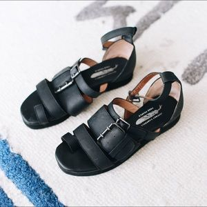 FP exclusive Jeffrey Campbell leather sandals