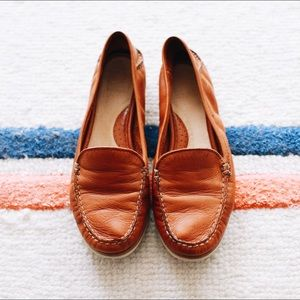 Frye leather loafers