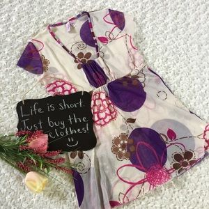 Sweet Pea Tops - Sweet Pea by Stacy Frati floral top