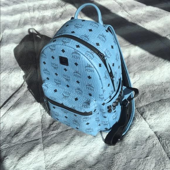 10 Off Mcm Handbags Brand New Mcm Sm Stark Backpack