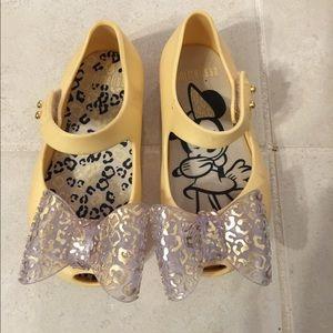 Mini Melissa shoes Size 6