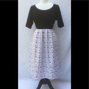 eshakti Dresses & Skirts - New Eshakti Nautical Sail Fit Flare Dress 16W