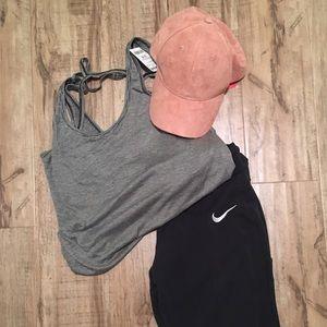 Evereve Accessories - EVEREVE ROSE BALL CAP