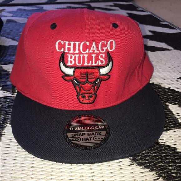 45fc0336 Accessories | New Chicago Bulls Snapback Hat Nba Vintage Retro ...