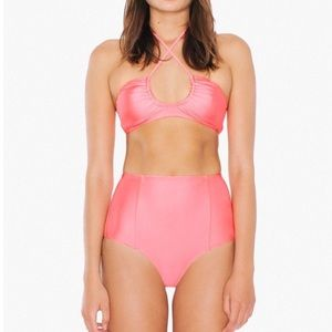 American Apparel Other - NWOT American Apparel High Waisted Bikini Set