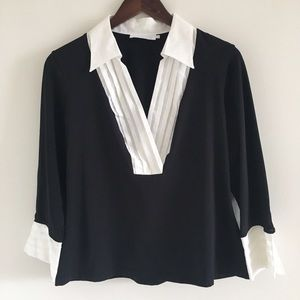 Anne Fontaine Tops - Anne Fontaine Adenora 3/4 Sleeve Top EU Sz 44