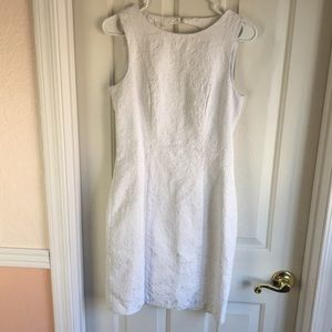 White lace H&M dress