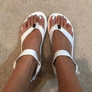 Teva Shoes - Brand new bright white Teva sandals