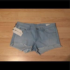 rag & bone Pants - Rag & bone Ashling cutoff shorts size 31