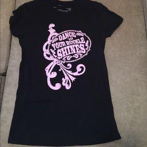 Black Bling Tee Shirt by Bunkhouse Bling