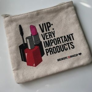 VIP: Very Important Products Makeup Bag