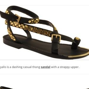Boutique9 pryalis studded thong sandals