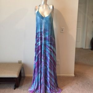 American Twist Dresses & Skirts - Tye dye long summer dress