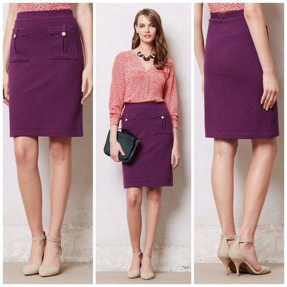 3327a5c600 Anthropologie Dresses & Skirts - [ANTHRO] Vanessa Virginia • Bonny Pencil  Skirt