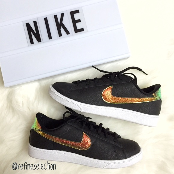 nike nike iridescent tennis classic premium sneakers. Black Bedroom Furniture Sets. Home Design Ideas