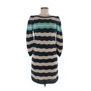 bp Dresses & Skirts - BP Wavy Striped Long Sleeve Sweater Dress