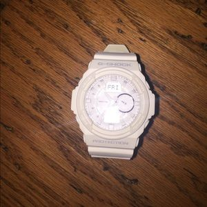 G-Shock Other - Mens white G-Shock watch