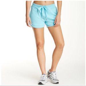 Nanette Lepore Pants - Nanette Lepore Sweat Shorts turquoise laser cut M