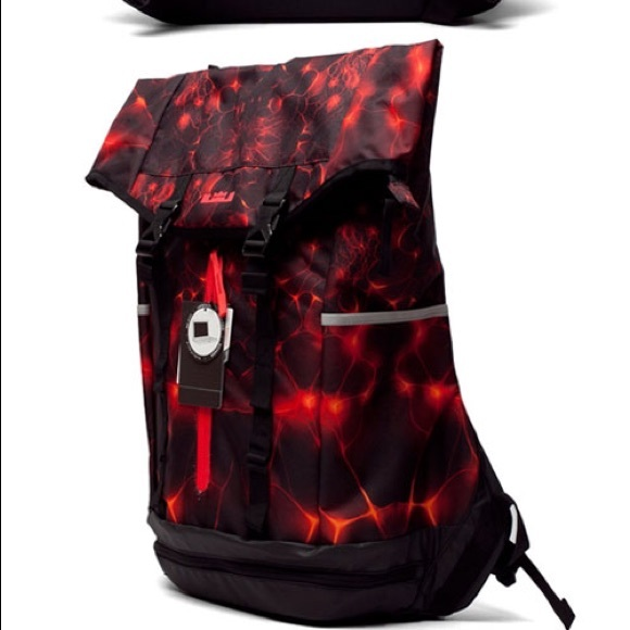 lebron ambassador backpack red