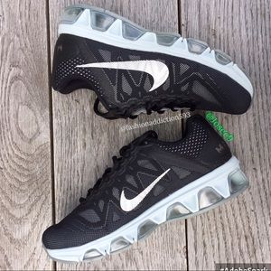 Nike Shoes - Nike Air Max tailwind women's black gray sneakers