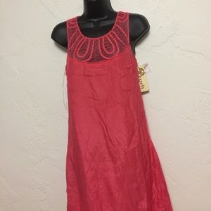 Aryeh Coral Dress - Sz S
