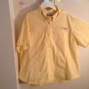 Columbia Tops - Columbia yellow Shirt