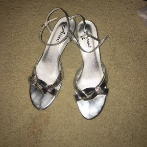 Anniel Shoes - Silver heel