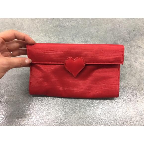 Queen of Hearts Style Red Heart Handbag