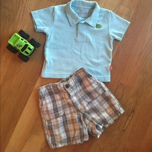 Magnificent Baby Other - Polo & Shorts Set 6-9 Months Gap/Magnificent Baby