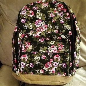 no name Handbags - Floral backpack