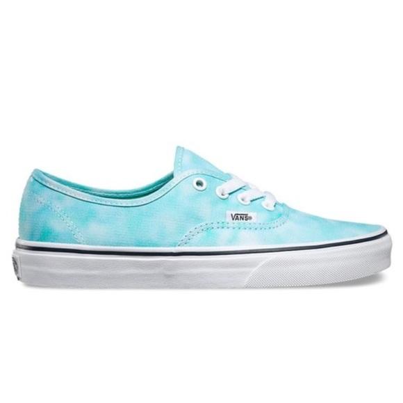 1c89722069 NWTVans Authentic tie dye turquoise unisexM 6. W-8. NWT. Vans