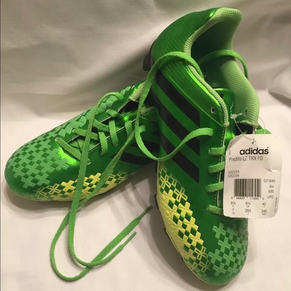 NEW Adidas Predito LZ Green Mens US:7 Soccer Cleat Boutique
