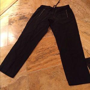 Lou & Grey Pants - Lou & Grey 100% Supersoft Lyocell navy drawstring