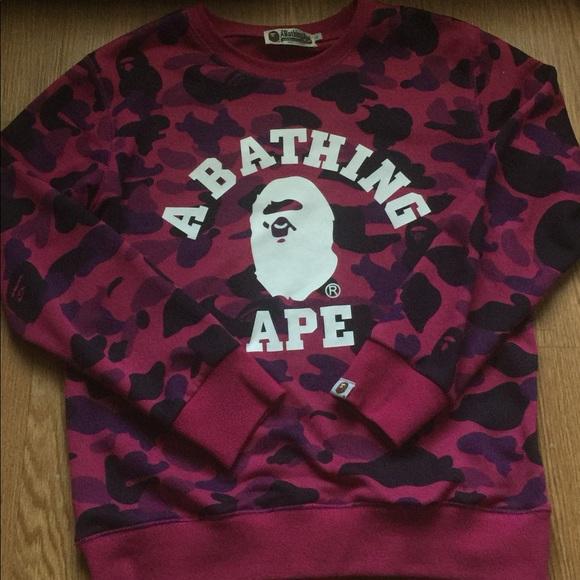 5f880a35 bape Shirts | Camo Long Sleeve | Poshmark
